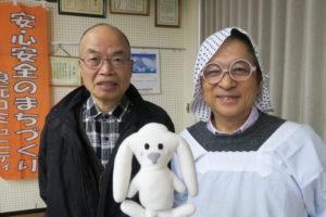 防災士の山本さんと松本さん