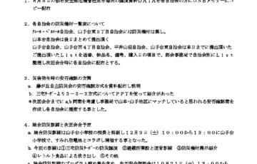 安全部会9月度部会議事録のサムネイル