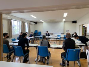 CoKoセンタで副代表者会議と運営委員会の写真